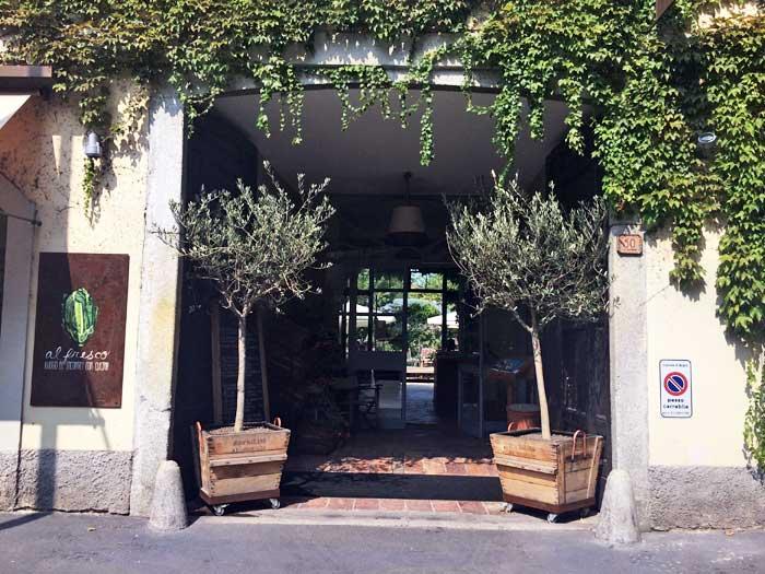 Ristorante Al Fresco Milano_Ingresso