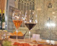 Un bicchiere di vino vista Duomo da Signorvino