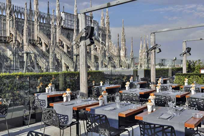 Rinascente Rooftop Bar Milan A Place in Milan