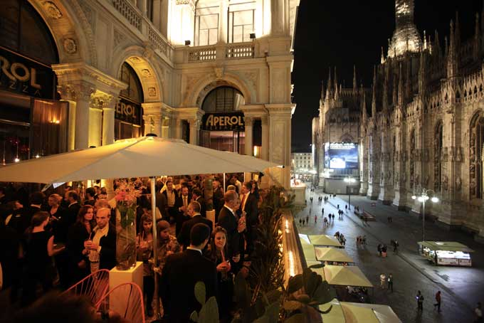 Terrazza Aperol Rooftop Bar Milan A Place in Milan