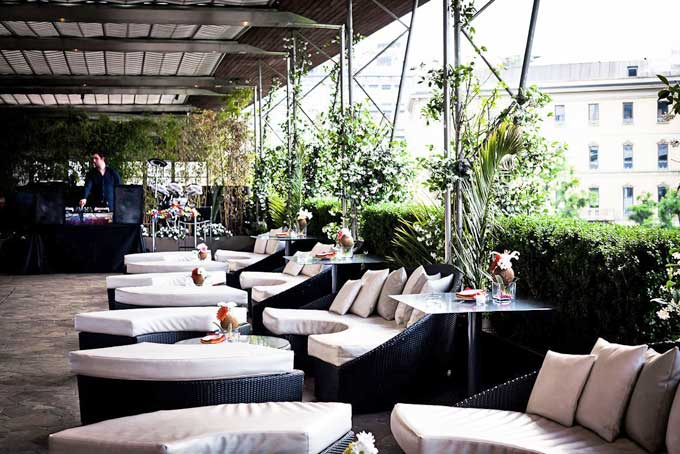 Terrazza Via Palestro Rooftop Bar Milan A Place in Milan
