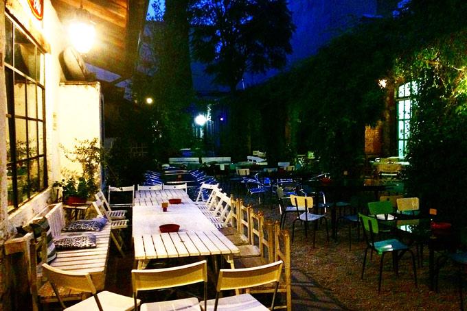 Fonderie Milanesi A Place in Milan Courtyard