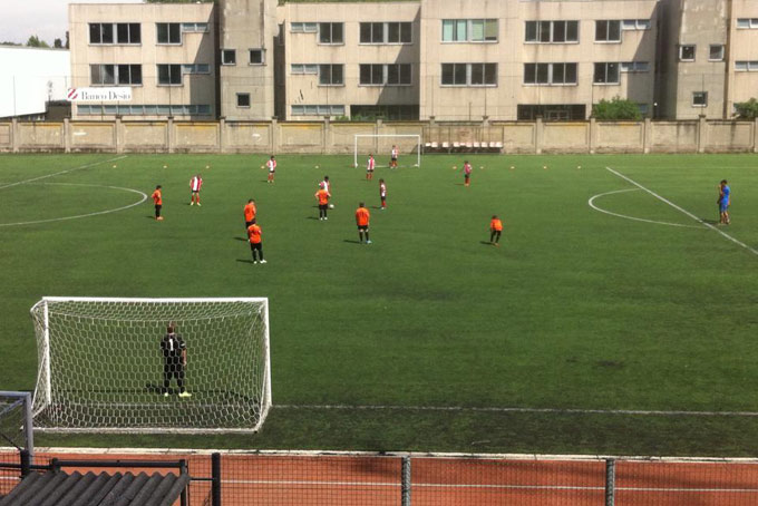 Savorelli Football A Place in Milan