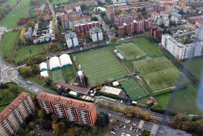 Fields Via Cilea Football A Place in Milan