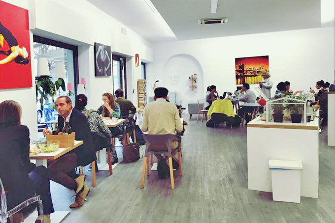 Coffice Coworking A Place in Milan