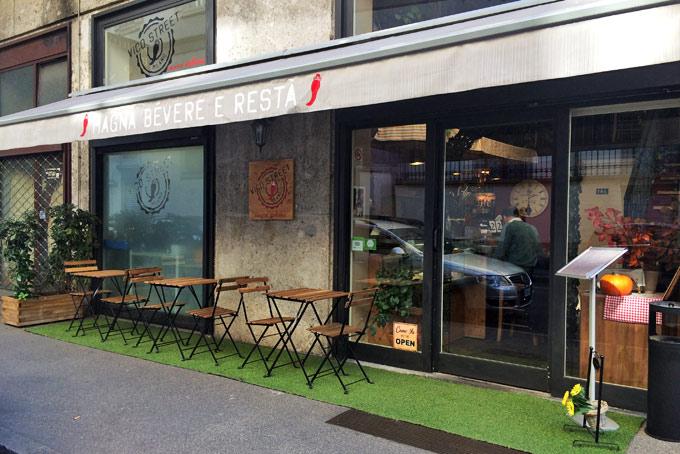 Vico Street Neapolitan Restaurant A Place in Milan