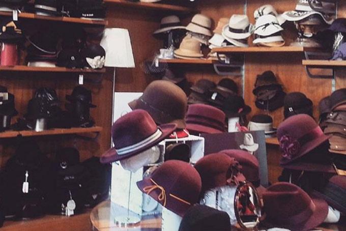 Cappelleria Melegari Men's Stores A Place in Milan