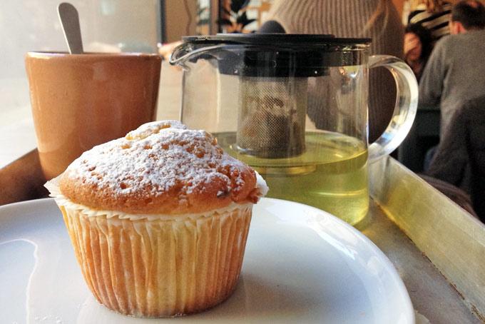 Da Otto Drinking Tea A Place in Milan
