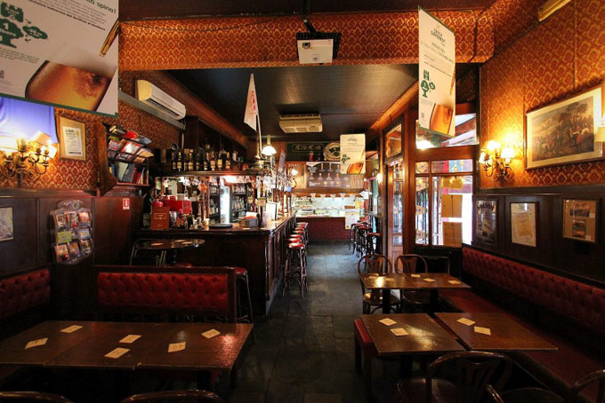 Old Fox Pub Places for Matches A Place in Milan