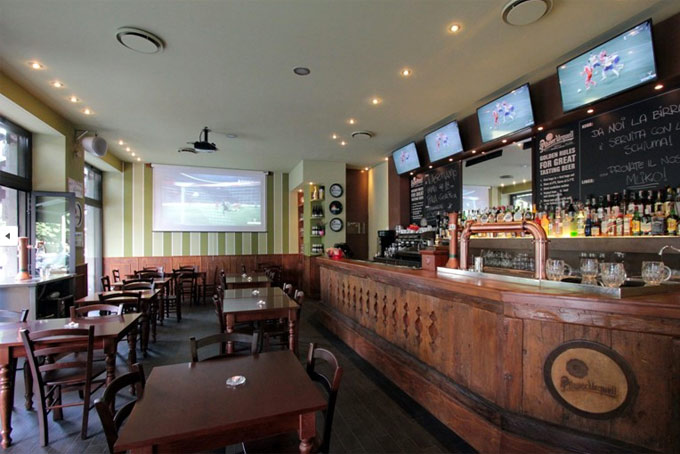 Pils Pub Places for Matches A Place in Milan