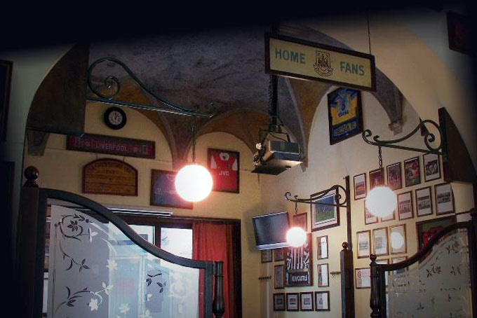 The Football English Pub Places for Matches A Place in Milan