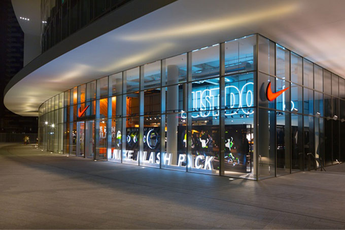 Nike Store Gae Aulenti A Place in Milan
