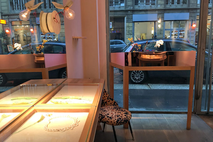 Atelier Vm Jewelry Shop A Place in Milan