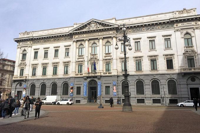 The Facade of the Gallerie d'Italia| © Caterina Zanzi