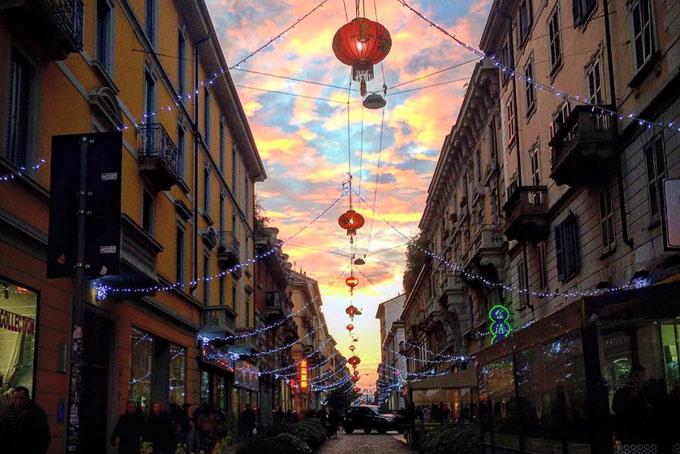 Via Paolo Sarpi Chinatown Milano