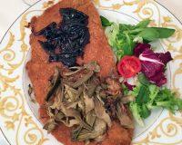 La cotoletta alla milanese del Ristorantino della Carne