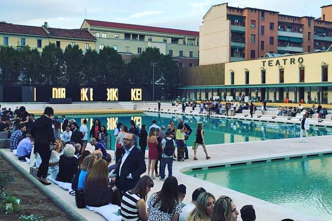 L 39 ex caimi diventa bagni misteriosi teatro con piscina in - Piscina porta romana milano ...