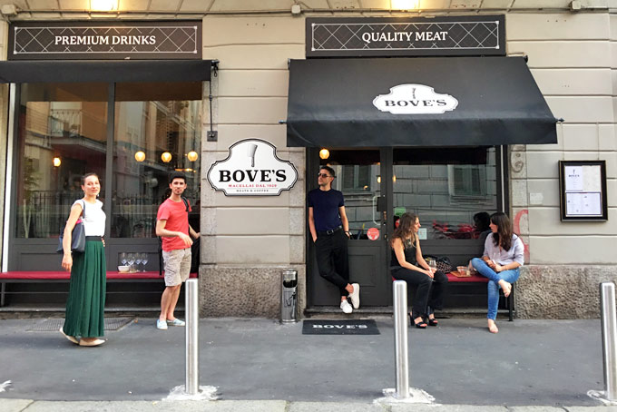 Bove's Milan A Place in Milan