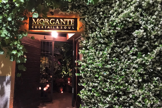 Morgante Cocktail Bar Milan