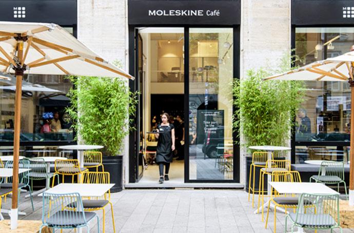 Moleskine Cafe Milan