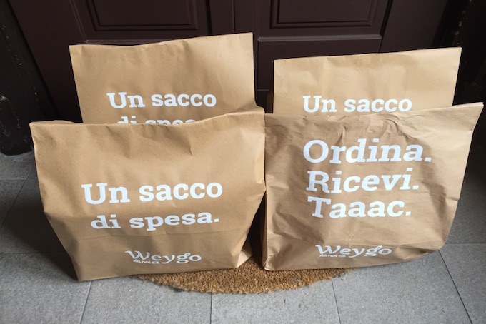 Weygo Groceries Home Delivery Milan