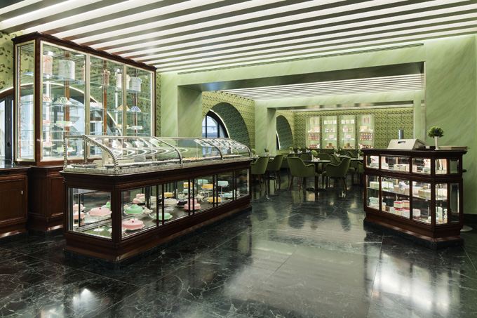 Pasticceria Marchesi Galleria Vittorio Emanuele Milano