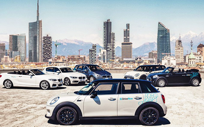 DriveNow Milan Car Sharing