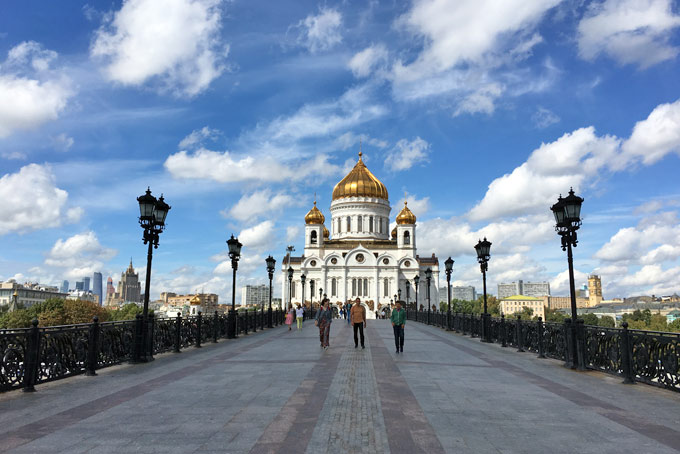 Moscow what to see and where to eat