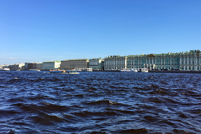 Saint Petersburg what to see and where to eat