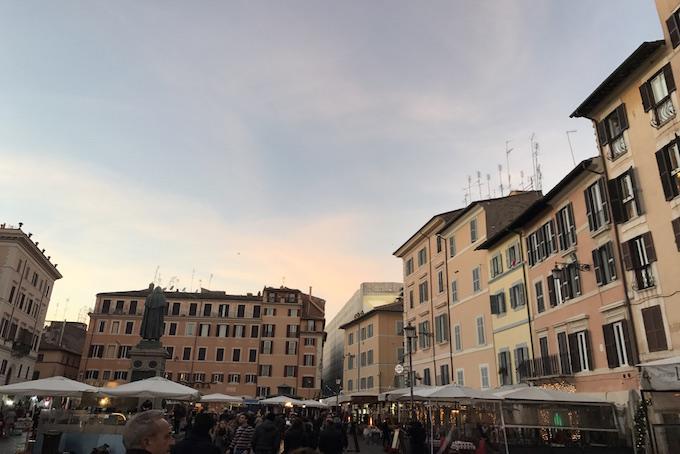 Campo De' Fiori Rome A Place in Milan