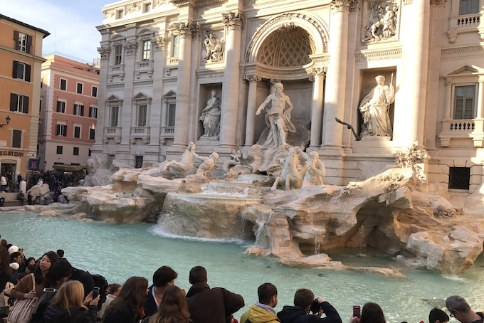 The Fountain of Trevi Rome A Place in Milan
