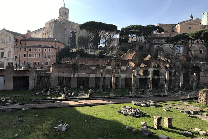 Imperial Forum Rome A Place in Milan