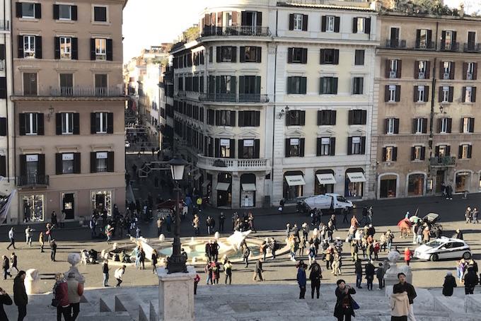 Piazza di Spagna Rome A Place in Milan