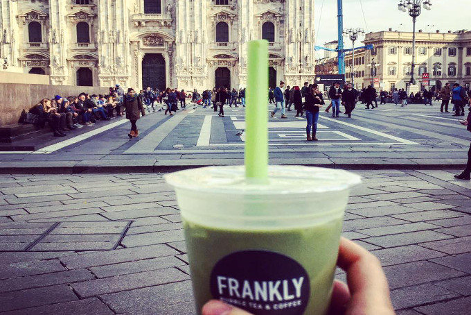 Bubble tea Milano Frankly