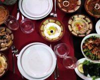 A cena al ristorante libanese Dawali