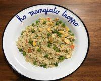 #ConoscoUnaSchiscia: la ricetta del riso alla cantonese vegetariano