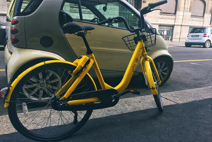 Ofo Bike sharing Milano