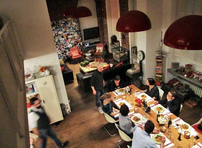 Milano Ma Hidden Secret Kitchen Supper Club Tavolata