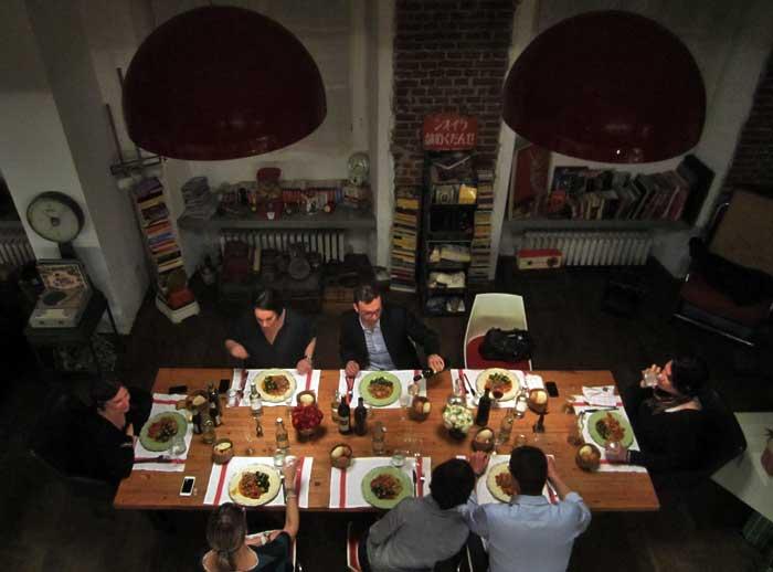 Milano Ma Hidden Secret Kitchen Supper Club Tavolo