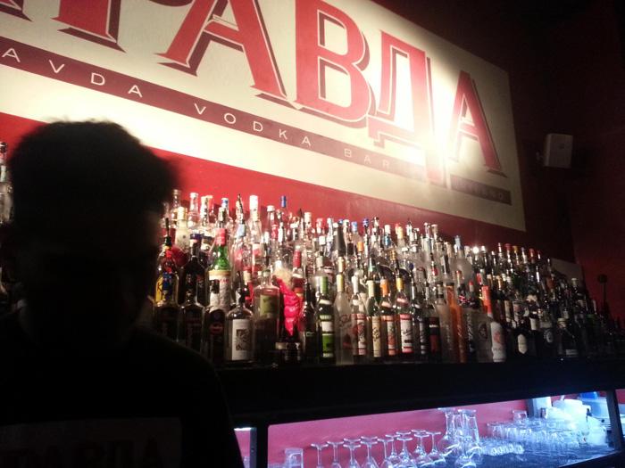 Pravda Vodka Bar Cocktail Milano