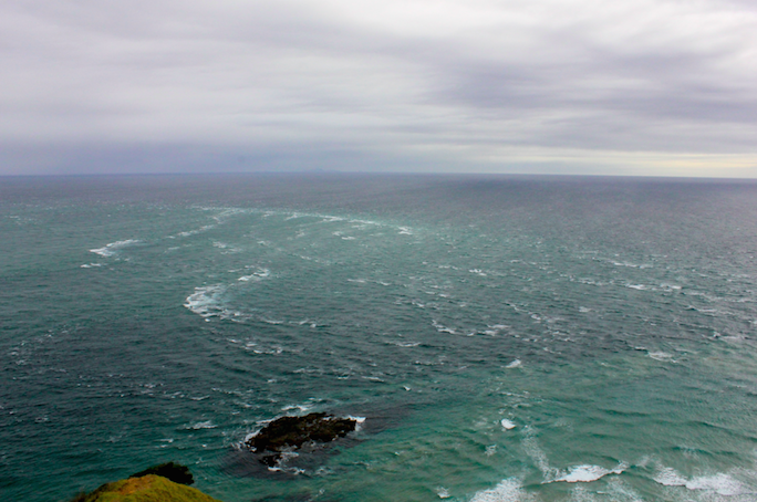 Nuova Zelanda Cape Reinga Conosco Un Posto