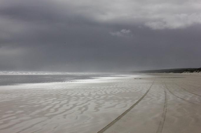 Nuova Zelanda Ninety Mile Beach Conosco Un Posto