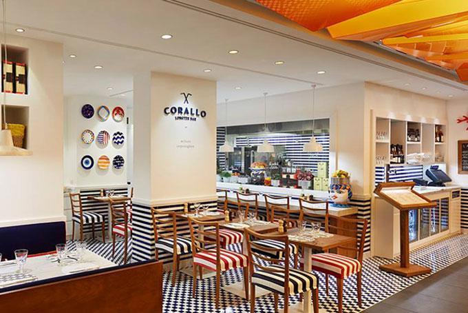 Corallo Lobster Bar Milano Rinascente Astice