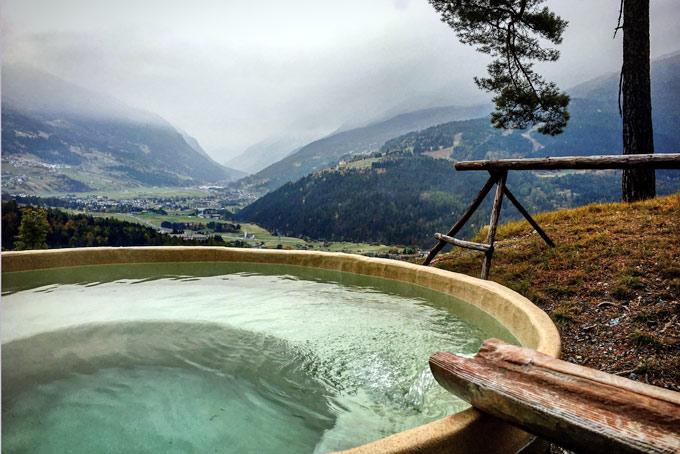 Il relax in montagna alle qc terme di bormio conosco un posto - Qc terme hotel bagni vecchi ...