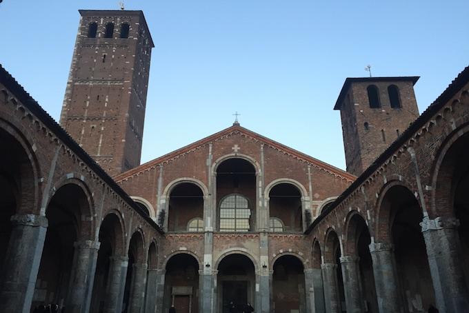 Basilica di Sant'Ambrogio Milano Conosco un posto