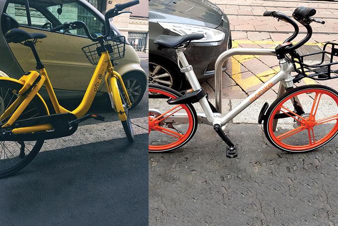 Abbiamo provato mobike e ofo bike sharing a milano nuovi for Mobile milano bike sharing