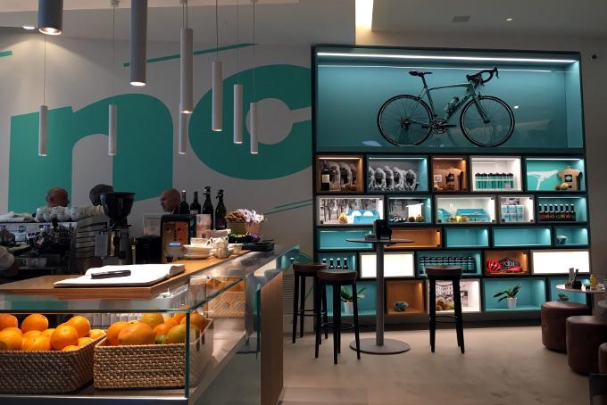 Bianchi Café & Cycles Biciclette Milano