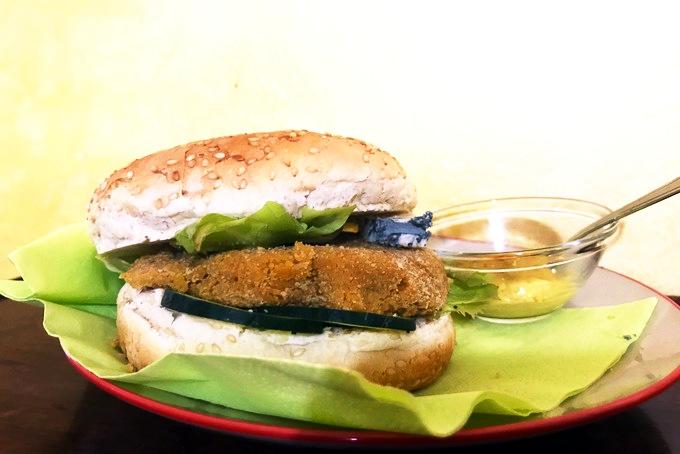 Ricetta veggie burger