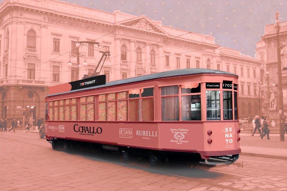 Tram Corallo Fuorisalone Milano 2018 design week